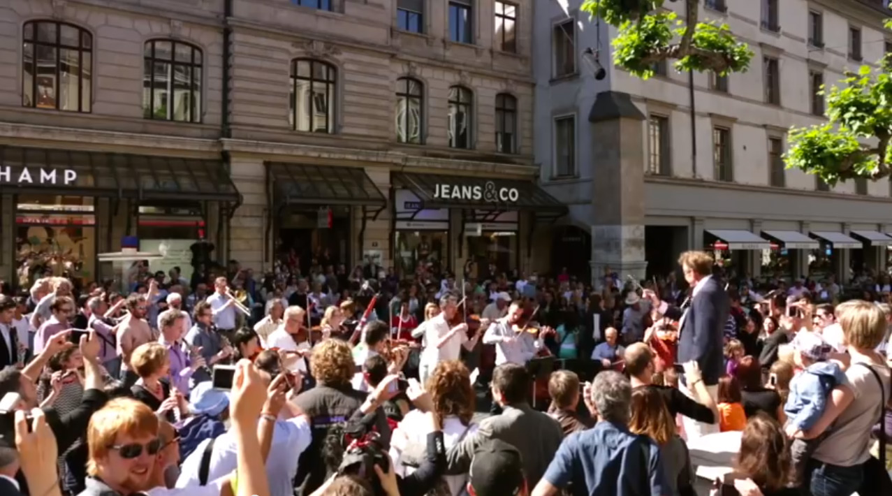 Flashmob / Orchestre de la Suisse Romande (OSR)